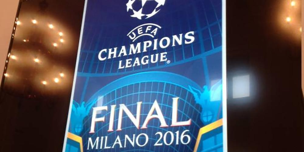 La Finale UEFA Champions League a Milano