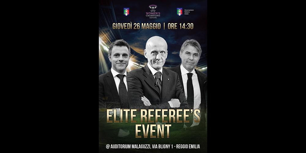 Finale WCL e Elite Referee's Event a Reggio Emilia
